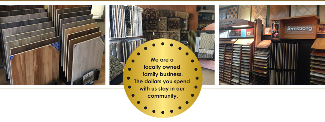 Come see Cappy's Carpets massive showroom today for samples of all of your flooring needs!