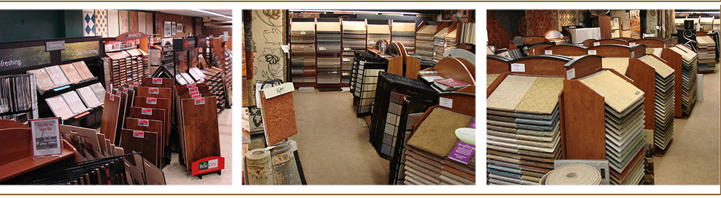 Cappy's Carpets' showroom carries many samples of Carpet, Hardwood, Laminate, Vinyl, Area Rugs, and Window Fashions - Ask about our featured flooring brands today! (631) 473-2600