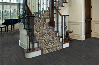 Stair Runner Room Scene